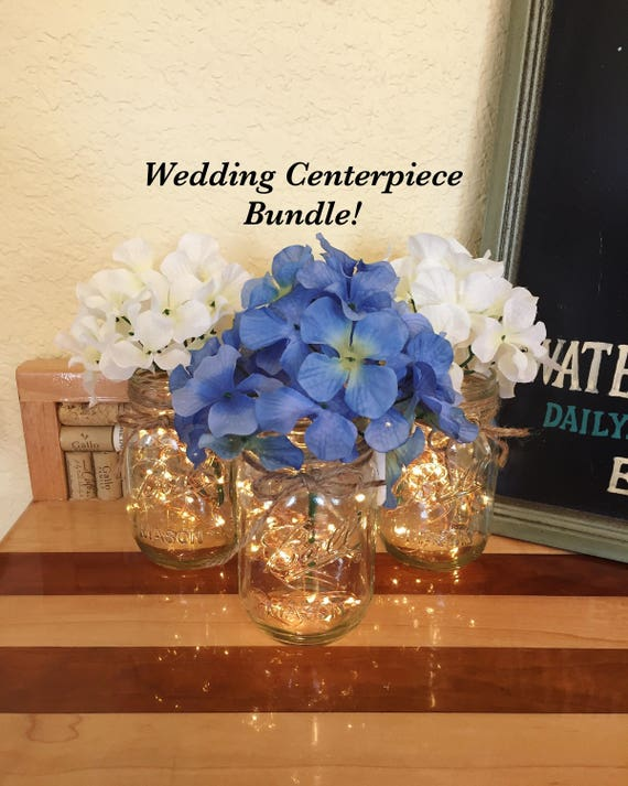 Bulk Of 10 Rustic Wedding Centerpieces Wedding Table Etsy