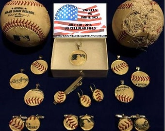 New York Yankees baseball logo icon cufflinks baseball sports team New York Yankees baseball symbol patch wedding groomsmen cuff links