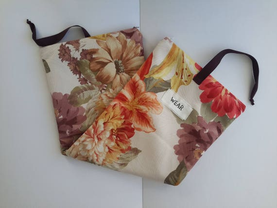 laundry bags Wash and wear laundry bag for woman Lingerie bag for travels Bridesmaid gifts Gift idea for her Underwear travel bag