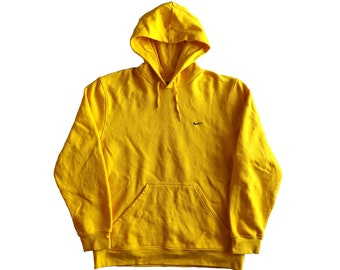 fed03cfd93bc2a NIKE Yellow Hoodie   Pullover Streetwear Hip Hop Rap Size XL Unisex