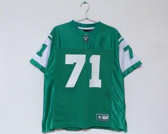90s STARTER #71 Football Jersey / Sports Wear Sport Wear Streetwear Hip Hop Rap For Women