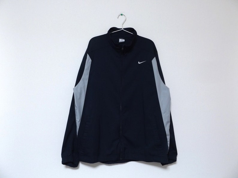 a0ff6447a1e9 NIKE Two Tone Windbreaker   Color Block Streetwear Hip Hop Rap
