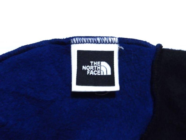 a069ea617 90s THE NORTH FACE Two Tone Fleece Hat / Streetwear Hip Hop Rap Ski Hat One  Size