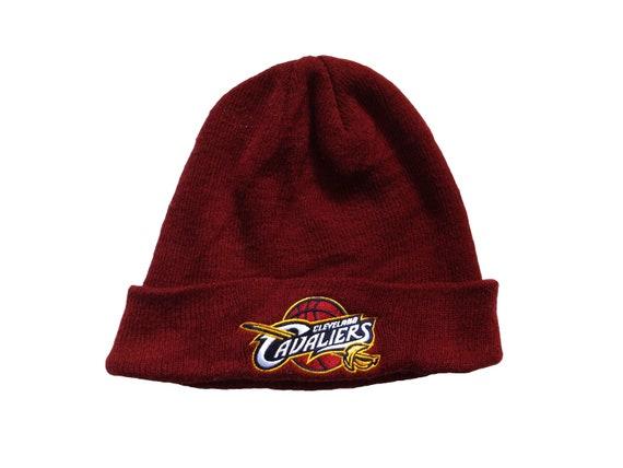 914ab1e3725 ADIDAS Cleveland Cavaliers Beanie   NBA CAVS Ski Hat