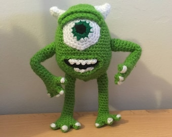 Amigurumi Mike Wazowski - Monsters Inc