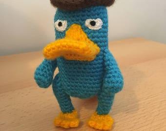 Perry Das Schnabeltier Etsy