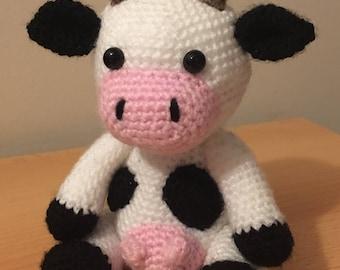 Cow Amigurumi - MooMoo Cow - Free Crochet Pattern | Craft Passion | 270x340