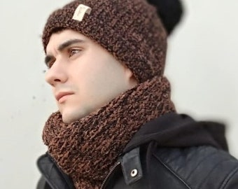 Hat, scarf, wool cap, wool scarf, wool, infinit scarf