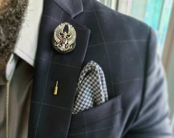 Phoenix Rising - Luxury Hand Made Artisan Lapel Pin