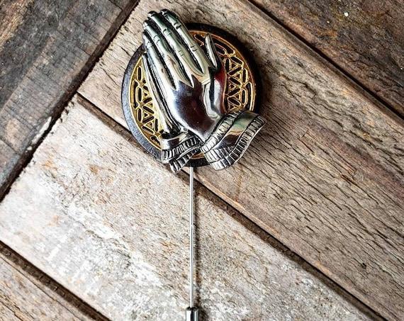 Prayed Up - Luxury Handmade Artisan Lapel Pin