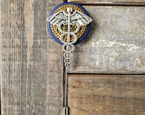Healer - Luxury Handmade Artisan Lapel Pin