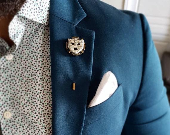 Ancestral Whisper - Luxury Handmade Artisan Lapel Pin