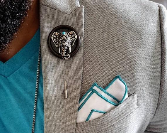 Ganesh Elephant-Luxury Hand Made Artisan Lapel Pin