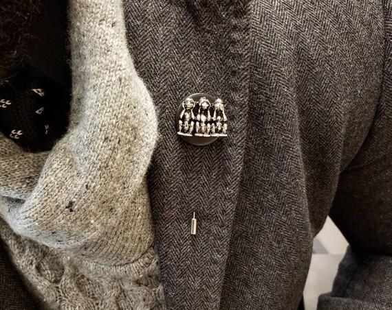 No Evil - Luxury Hand Made Artisan Lapel Pin
