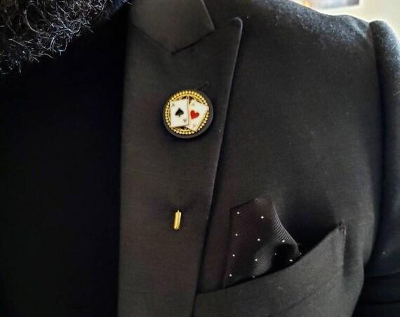 Ace In The Hole - Luxury Handmade Artisan Lapel Pin
