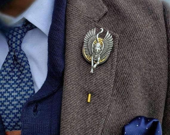 Bastet - Luxury Handmade Artisan Lapel Pin