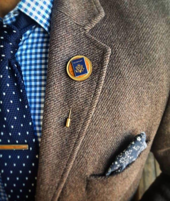 Journey- Luxury Hand Made Artisan Lapel Pin