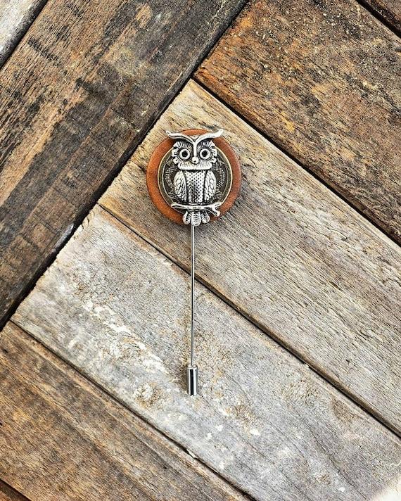 Mystic Seer-Luxury Handmade Artisan Lapel Pin