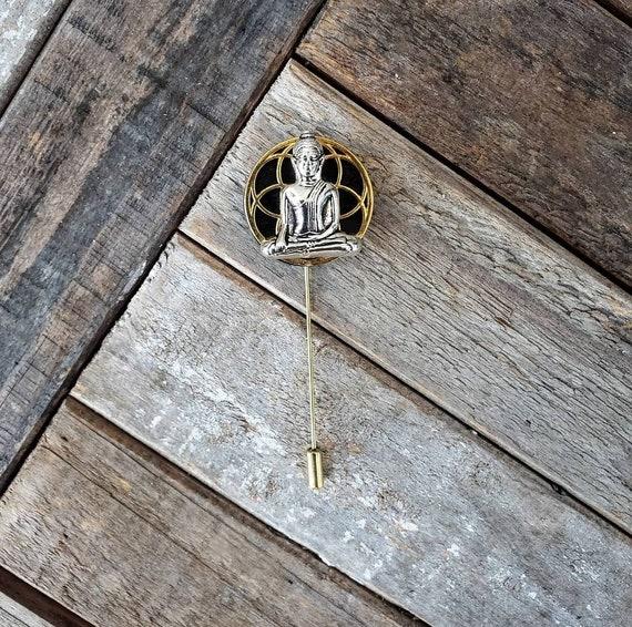 Nirvana - Luxury Hand Made Artisan Lapel Pin