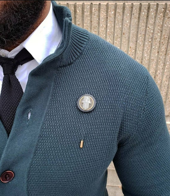 Nautical Compass-Luxury Hand Made Artisan Lapel Pin