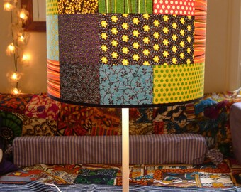 PATCHWORK - Fabric Lampshade