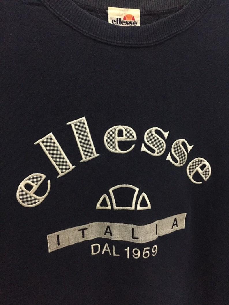 Ellesse Italia Big Spell Out Sweatshirt