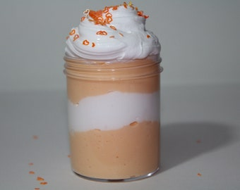Pumpkin Cupcake Cake in a Jar (4oz and 2oz Set) - Scented Cloud, Icee, Butter Slime