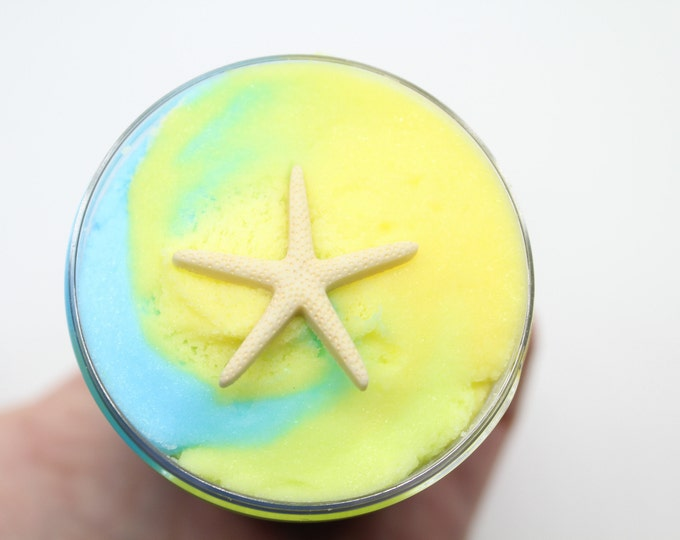 Featured listing image: Tropical Island Swirl Scented Cloud Slime