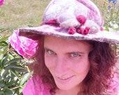 Cappello in feltro in lana merino