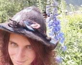Cappello in feltro di alpaca
