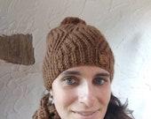 Berretta in pura lana di alpaca del nostro Huaco