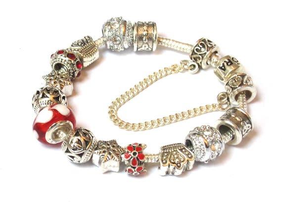 bracelet imitation pandora rouge