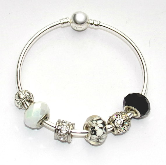 lot de bijoux femme bracelet pandora jonc