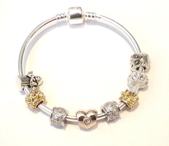 SUPERBE JONC Bracelet with Charms