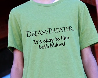 Dream Theater, It's Okay to Like Both Mikes, Mike Portnoy, Mike Mangini, Drum fans, Sons of Apollo, Band Shirts, Drummers, Music