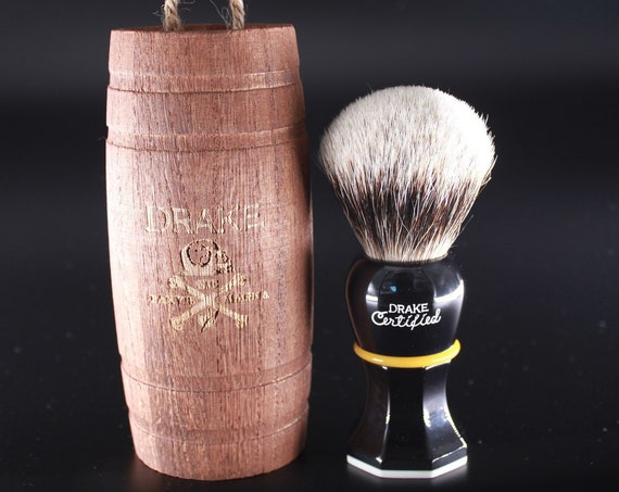 Drake Two-Band Badger Shaving Brush by DARWIN