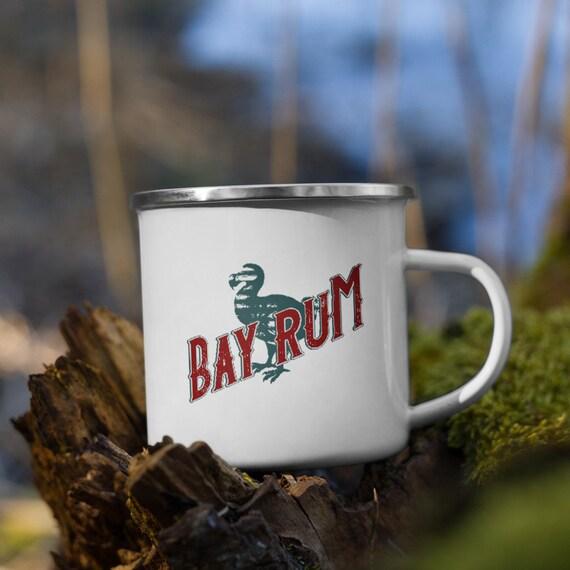 Bay Rum Enamel Mug - Darwin