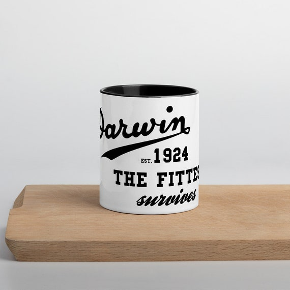 "Darwin ""Est 1924"" Coffee Mug - Simple"