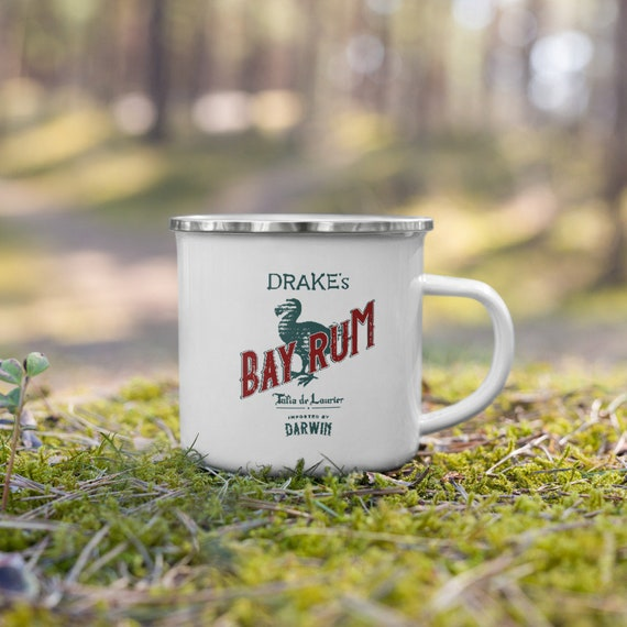 Drake's Bay Rum Enamel Mug - Darwin