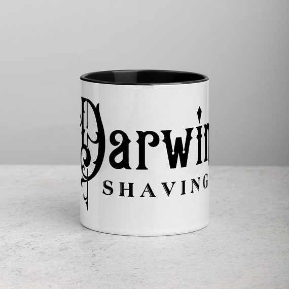 Darwin Shaving Coffee Mug