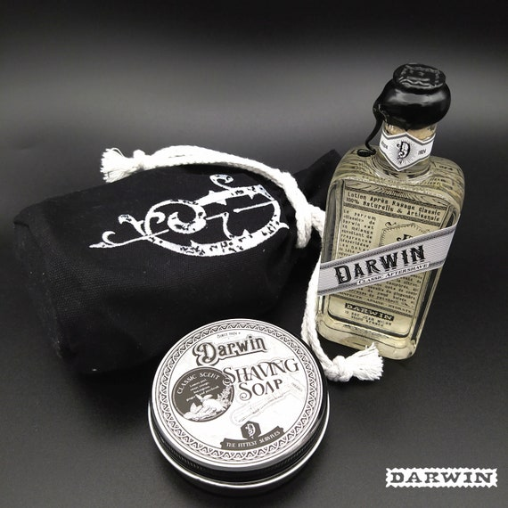 "Bundle Shaving Soap + Aftershave - DARWIN ""Classic"""