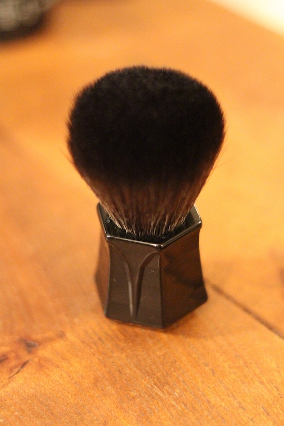 Black Synthetic Shaving Brush - DARWIN