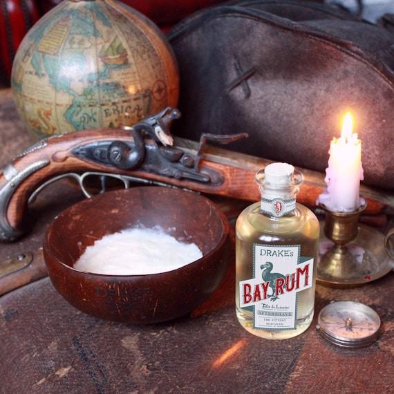Drake's Bundle 1 - Bay Rum Shaving Soap + Aftershave - DARWIN - Made in France