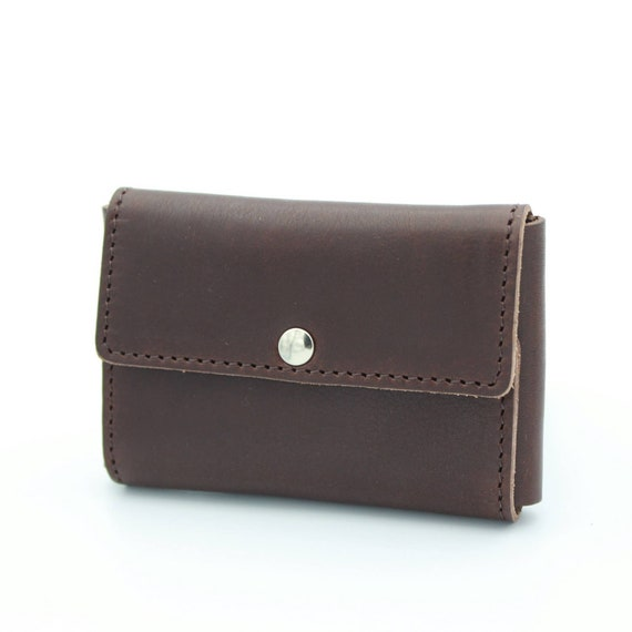 Deluxe Travel Pouch in Genuine Brown Leather for Safety Razors - DARWIN