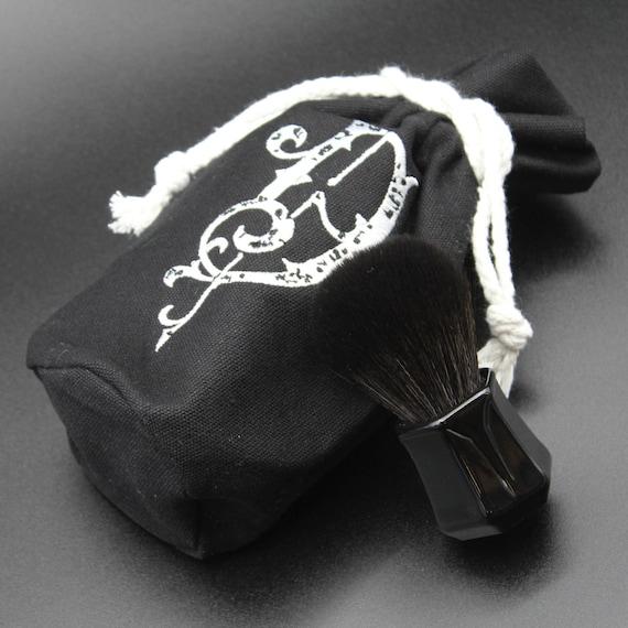 Black Synthetic Shaving Brush - DARWIN