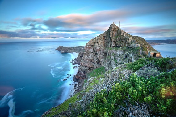 Nature Wallpaper Cape Point South Africa Premium Nature Etsy