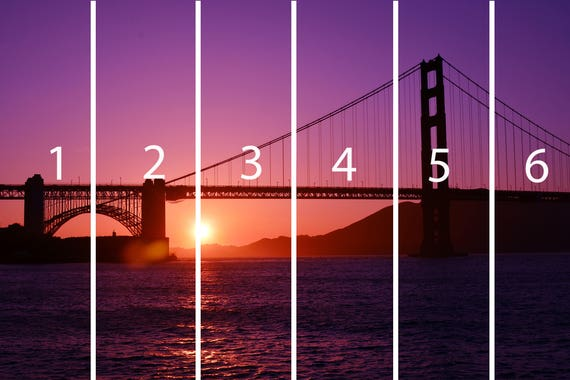 Wall Tapestry Golden Gate Bridge Wallpaper Wall Mural Wall Tapestries