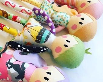 Doll Pattern ~ Rag Doll Pattern ~ PDF  Sewing Pattern ~ Doll Sewing Pattern ~ Baby Sewing Patterns ~ Sew A Doll ~ Cloth Doll ~ Easy Patterns