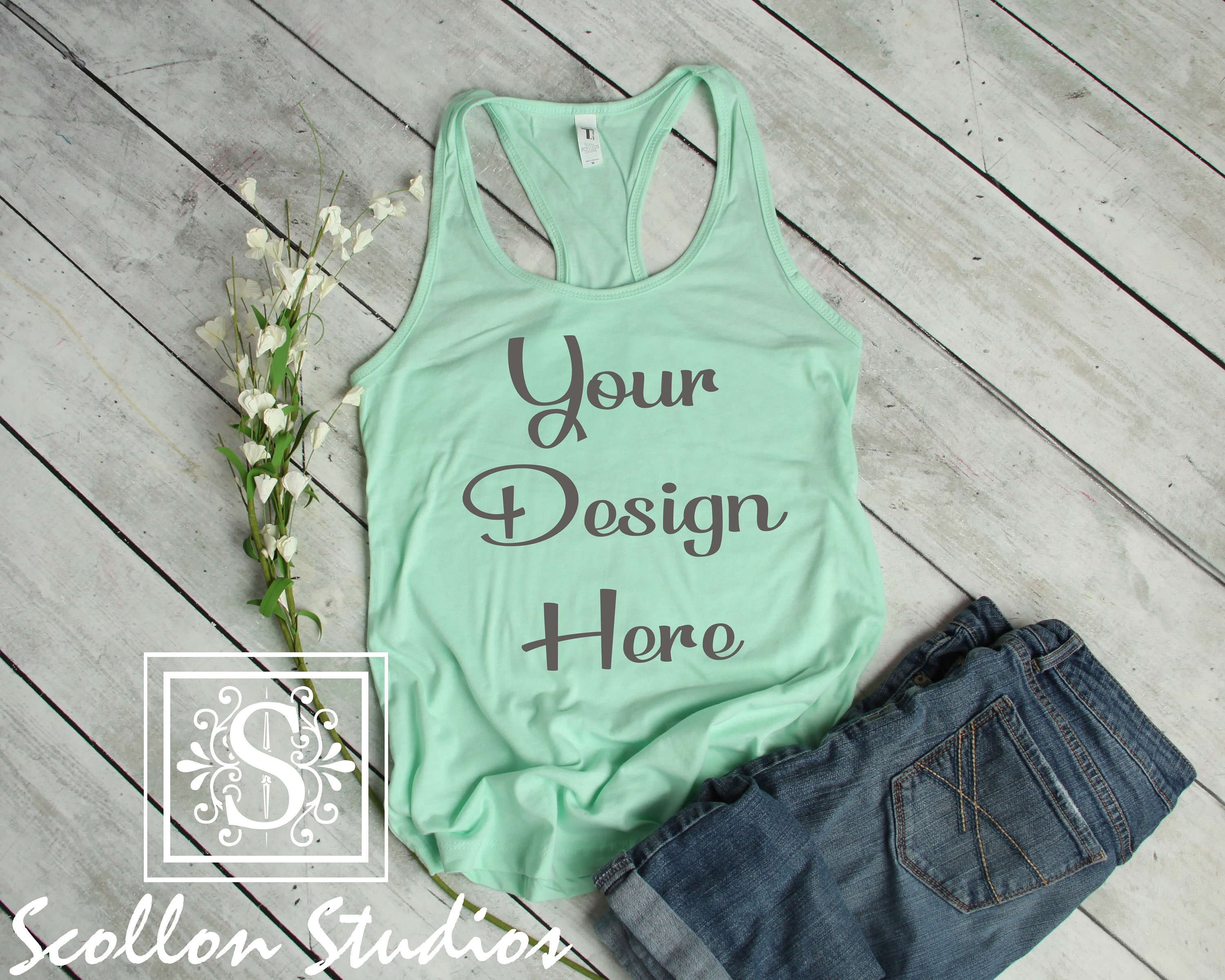 0be02aed93 Custom Tank Top - Custom Women's Racerback Tanks - Personalized Tanks - Design  your own Tanks - Custom Shirts - Custom Women's Shirts