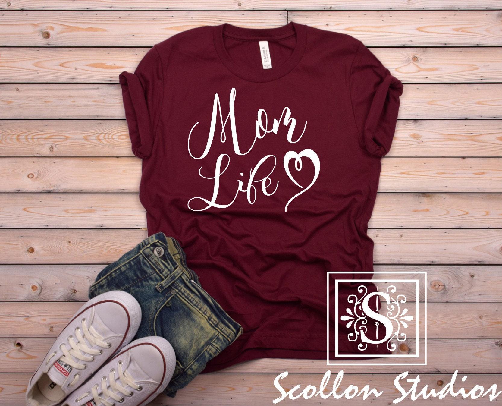 c4021199b Mom life Shirt, Mom Shirt, Shirts for Moms, Trendy Mom T-Shirts, Cool Mom  Shirts, Mothers Day Gift, Shirts for Moms, Funny Mom Shirt